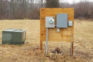 Temporary Service Installation